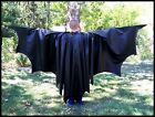 PLEATHER Batman Cape Mens Cloak VERY FULL Bat Man Custom Handmade size S M L XL