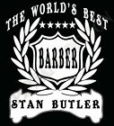 Barber T-Shirt Personalised Add Name Great Gift Idea Hairdresser Customised