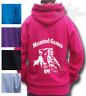 HORSE RIDING hoodie, PONY RIDING, Gymkhana, all Children's sizs Mounted Games