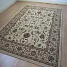 Pendra Traditional Persian Look Rugs In Light Beige - 6  Sizes Available OW137W