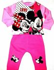 Baby Girls MINNIE MOUSE Disney Character Tracksuit Outfit & Sets,6,12,18,23 mths
