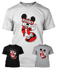 MICKEY MOUSE HANDS TSHIRT DISOBEY T-SHIRT OBEY DRAKE YMCMB OFWG TGOD DOPE DTG