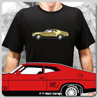 Classic Australian Ford Falcon XB GT Coupe Car T-Shirt - Colour Customisable