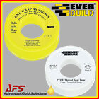 Everbuild PTFE Tape Pipe Thread Sealing Joint Sealer Choice Water or Gas type UK