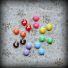 Candy Sweet Stud Earrings Chocolate Cute Funky Kitsch Emo Retro Yummy Colours