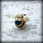 Bee, bracelet Charm, fits Any Euro Bracelet Funky Cute Kitsch