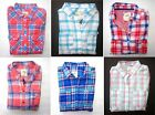 NWT Hollister Women's Plaided  Button-Down Shirt Blouse