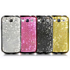 Samsung i9300 i747 i535 Galaxy S3 Crystal Cubic Smartphone Hard Case Cover_ PLUS