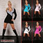 NEW SEXY WOMENS SIZE 6 8 10 JUMPER SWEATER MINI CLUB PARTY CASUAL DRESS TOP