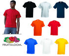 Fruit of the Loom Heavy Cotton Tee All Colours & Sizes