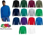 Fruit of the Loom Raglan sweat All Colours & Sizes