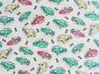 CRIB SHEET /FITTED / FLANNEL - CARS AND TRAFFIC LIGHTS ON BROWN & GREY