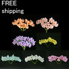 60pc Mini Calla Lily Flower Wedding Favor Decor Scrapbooking free shipping