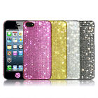 NEW APPLE iPhone5 Crystal Cubic Hard Case Cover_PS Plus_ Blue,Gold,Silver,Black