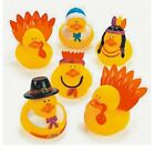 Set of 6 Thanksgiving INDIAN Rubber Ducks DUCKYS Duckies or Sticker #253270