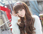 Hot Sell New Fashion Women's Long Curly Full Synthetic Wig 3 Colors Available