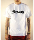 ILLUMINATI SCRIPT  T SHIRT  VARIOUS  ILLEST COLORS & M-2XL SERET SOCIETY NWO
