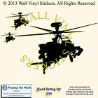 HELICOPTER WALL ART BEDROOM MURAL GIANT STICKER BANKSY TRANSFER DECAL LAPTOP