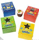 100 Days of School Cupcake Boxes AS LOW AS 53¢ea Birthday Favor SHOWER #33432