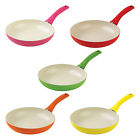Kuhn Rikon Ceramic Induction Coloured Frying Pan 24cm Or 28CM (PTFE PFOA FREE)