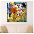 HUGE Canvas Franz Marc Deer in the Forest wall art print poster photo prints