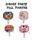 DISNEY POP-OUT PARTY PINATA'S - Mickey Mouse, Minnie Mouse, Car & Princesses