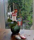 """""""Spotty Owl"""" Colourful Hanging Signs/Ornaments."""