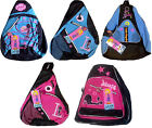 Disney LIZZIE McGUIRE Kids School Bag SLING BACKPACK - BNWT Pink or Blue