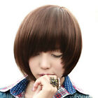 New Women&Girls' Fashion Short Straight BOBO Full Wigs Hair 3 Colors Available