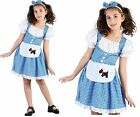 Girls Dorothy Wizard of Oz fancy dress costume dressing up outfit set Book Day