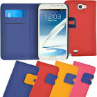 Samsung Galaxy Note 2 II N7100 Case, Fashion Wallet Flip Cover Built in Stand