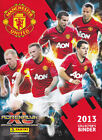 MANCHESTER UNITED PANINI ADRENALYN XL 2013 CHOOSE HOME BASE CARDS 1 - 27 MAN UTD