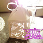 Bird on a Tree Design - Quality Luxury Wedding Sweet Favour Boxes + Ribbon Ties