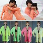 1 Pc Couple Lover Unisex Beach Surf Board Sun Protecting Couple Hoodies 3 Sizes