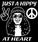 Hippy T-Shirt Hippie T-Shirt 60's Inspired Peace Love At Heart CND Woodstock 60s