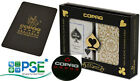 COPAG BLACK GOLD PLAYING CARDS POKER JUMBO INDEX CUT CARD DEALER BUTTON RARE UK