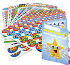 Pick n Mix Teacher Reward Stickers Stars, Smiley etc & Free Pocket Reward Chart