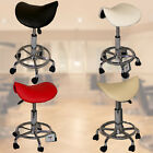 SALON SPA BEAUTY FAUX LEATHER SADDLE MASSAGE REIKI GAS LIFT CHAIR MANICURE STOOL