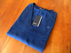 NEW GENUINE Fred Perry Womens Navy Blue Jumper - RRP £90