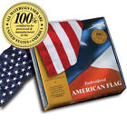 Embroidered 3-ft-by-5-ft American Flags *100% MADE IN U.S.A.* Allied Flag™ 3'x5'