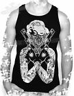 MARILYN MONROE,TATTOO,GANGSTA ,MENS VEST TOP,S- UPTO - XXL