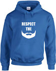 Respect The Beard, Dexter's Laboratory inspired Printed Hoodie
