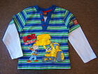 BOYS BoB Builder Long SleeveT-Shirt 12-18mths,18-23mths,2-3yrs,3-4yrs,4-5yrs