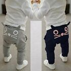 """Cat Pocket"" Baby Boys Girls Cartoon Animals Leggings Pants Trousers Age 6M-6Y"