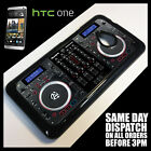 Cover for HTC One M7 Twin CD DJ Decks Controller Mixer Digital Dual Case !9027