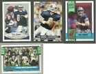 1990 1991 Topps Fleer Pro Set Score Troy Aikman Dallas Cowboys