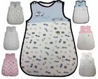 "BABY SLEEPING BAGS Newborn - 12 Months. 100% COTTON ""14 DESIGNS"" BNWT"