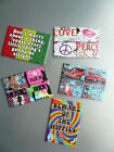 Retro Funky Fab Board Fridge Magnet Peace Don't Worry Rasta Ganja only 99p each