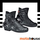 SIDI MENS APEX BOOTS SPORT-ON-ROAD STREET RIDING MOTORCYCLE BLACK