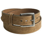 G Bar D WESTERN Embossed Nubuck LEATHER Casual Jeans BELT 40 42 44 46 Texas Rose